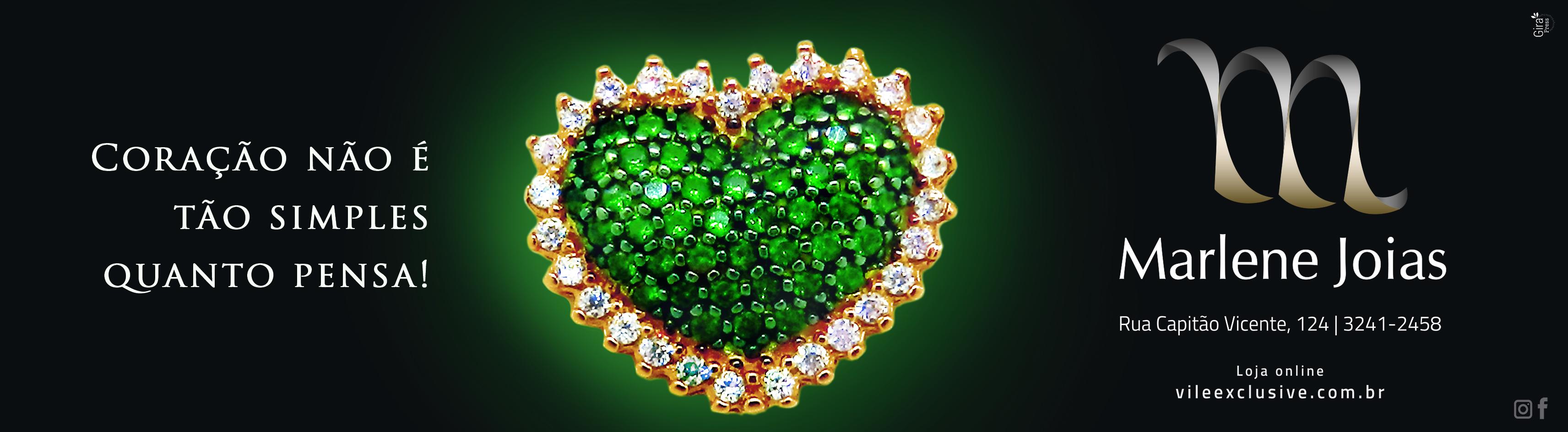 marlene coração verde